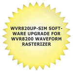 Tektronix WVR820UP-SIM Software Upgrade for WVR8200 Waveform Rasterizer