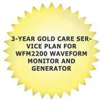 Tektronix 3-Year Gold Care Service Plan for WFM2200 Waveform Monitor and Generator