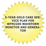 Tektronix 5-Year Gold Care Service Plan for WFM2200 Waveform Monitor and Generator