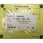 DNP Feed Roller Cleaning Sheets for CX1 and CR10L (2 Sheets)