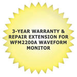 Tektronix 3-Year Warranty & Repair Extension for WFM2200A Waveform Monitor
