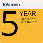 Tektronix 5-Year Calibration Data Report