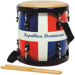"Tycoon Percussion 11"" Tambora (Dominican Republic Flag Finish)"