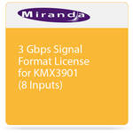 Miranda 3 Gbps Signal Format License for KMX3901 (8 Inputs)