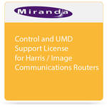 Miranda Control and UMD Support License for Harris / Image Communications Routers