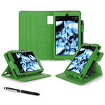 "rooCASE Dual View Folio Case Cover for Amazon Kindle Fire HD 6"" (2014 Ed.) (Green)"