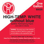 Mole-Richardson Water-Based High Temperature Paint (White, 1 Gallon)