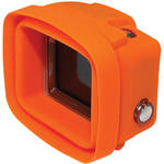 Big Balance My Shade S2 Collapsible Silicone Monitor Shade for GoPro HERO4 Silver with Standard Housing (Orange)