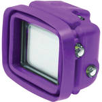 Big Balance My Shade S1 Collapsible Silicone Monitor Shade for GoPro HERO4 Black / 3+ / 3 with Dive Housing and LCD BacPac Backdoor (Purple)