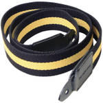 Black Label Bag Yellow Racing Stripe Canvas Camera Strap - 40""