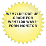 Tektronix WFM71UP-DDP Upgrade for WFM7100 Waveform Monitor
