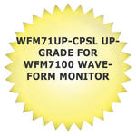 Tektronix WFM71UP-CPSL Upgrade for WFM7100 Waveform Monitor