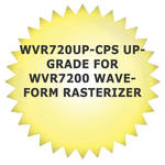 Tektronix WVR720UP-CPS Upgrade for WVR7200 Waveform Rasterizer