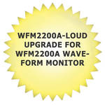 Tektronix WFM2200A-LOUD Upgrade for WFM2200A Waveform Monitor