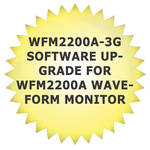 Tektronix WFM2200A-3G Software Upgrade for WFM2200A Waveform Monitor