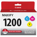 Canon PGI-1200 CMY Ink Cartridge Pack