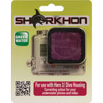 Sharkhon MCF-H3 Magenta Filter for GoPro HERO3 Housing