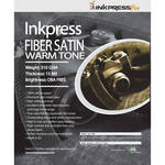 "Inkpress Media Fiber Satin Warm Tone Paper (4 x 6"", 50 Sheets)"
