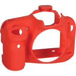 easyCover Silicone Protection Cover for Canon EOS 7D Mark II (Red)
