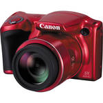 Canon PowerShot SX410 IS Digital Camera (Red)