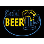 "Porta-Trace / Gagne LED Light Panel with Cold Beer Logo (16 x 18"")"
