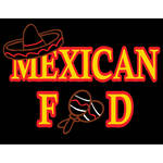 "Porta-Trace / Gagne LED Light Panel with Mexican Food Logo (11 x 18"")"