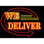"Porta-Trace / Gagne LED Light Panel with We Deliver Logo (11 x 18"")"