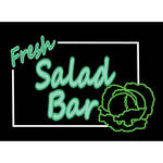 "Porta-Trace / Gagne LED Light Panel with Fresh Salad Bar Logo (16 x 18"")"
