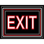 "Porta-Trace / Gagne LED Light Panel with Exit Logo (24 x 36"")"