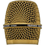 Telefunken HD03 Replacement Head Grille for M80 / M81 Microphone (Gold)