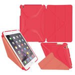 rooCASE Origami 3D Case for Apple iPad mini 1/2/3 (Persian Rose/Ruddy Pink)