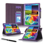 "rooCASE Dual View Folio Case Cover for Samsung Galaxy Tab S 10.5"" (Purple)"