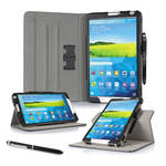 "rooCASE Dual View Folio Case Cover for Samsung Galaxy Tab S 8.4"" (Black)"