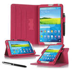 "rooCASE Dual View Folio Case Cover for Samsung Galaxy Tab S 8.4"" (Magenta)"