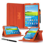 "rooCASE Dual View Folio Case Cover for Samsung Galaxy Tab S 8.4"" (Orange)"