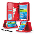 "rooCASE Executive Portfolio Case for Samsung Galaxy Tab S 8.4"" (Red)"