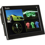 "ikan D7-2 7"" 3G-SDI/HDMI Field Monitor w/Waveform & Canon LP-E6, Nikon EN-EL 15, Panasonic G6 Battery Plates"
