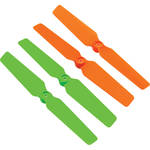 BLADE 3D Propellers for 200 QX Quadcopter (4-Pack, Green / Orange)