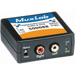 MuxLab Digital Audio Converter Dolby & DTS to Analog Audio