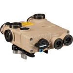 Steiner DBAL-A3 class 1/3R Civilian Visible Green/IR Laser Sight with IR Illuminator (Desert Sand)