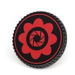 LenzBuddy Body Cap for Canon EF Mount Cameras (Flower, Red)