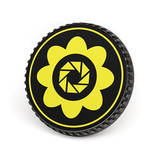 LenzBuddy Body Cap for Canon EF Mount Cameras (Flower, Yellow)