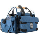 Porta Brace AO-2XH Audio Organizer with AH-2H Harness Kit (Blue)