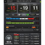 Waves WLM Plus Loudness Meter - Precision Metering Plug-In (Native/SoundGrid, Download)