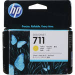 HP 711 Yellow Ink Cartridge (3-Pack)