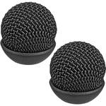 Auray Metal Windscreen for ECM-77 Lavalier Microphone (2-Pack)