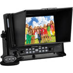 "MustHD M701S 7"" On-Camera Field Monitor with 3G-SDI Input / Output and HDMI Input / Output"