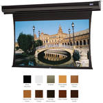 "Da-Lite 70176ELHWV Tensioned Contour Electrol 72.5 x 116"" Motorized Screen (220V)"
