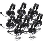 Califone 4100AVT Stereo Headsets (10-Pack)