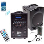 Califone PA419M Portable Bluetooth PA with Wireless Transmitter and Headset Microphone System